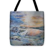 Majesty Of The Seas Tote Bag