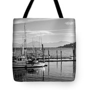 Makah Tribal Trawlers  Tote Bag