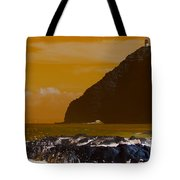 Makapuu Point Lighthouse- Oahu Hawaii V4 Tote Bag