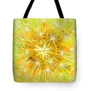 Make A Wish In Greenish Yellow Tote Bag