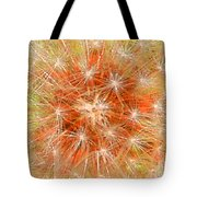 Make A Wish In Orange Tote Bag