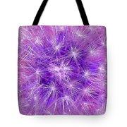 Make A Wish In Purple Tote Bag