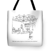Make That A Double Tote Bag