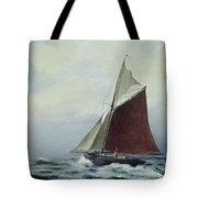 Making Sail After A Blow Tote Bag
