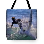 Making The Turn By Diana Sainz Tote Bag