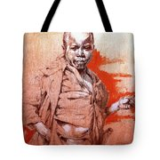 Malawi Child Sketch Tote Bag