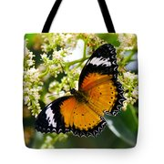 Malay Lacewing Butterfly  Tote Bag