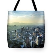 Malaysia Aerial Tote Bag