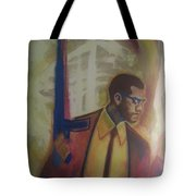 Necessary Means Of Malcolm X Tote Bag