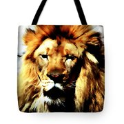 Male African Lion 2 Tote Bag