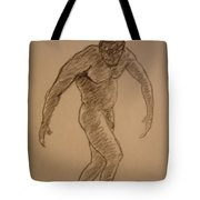 Male Croquis Tote Bag