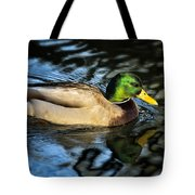 Male Mallard Tote Bag