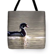Male Wood Duck - Sucarnoochee  River Tote Bag