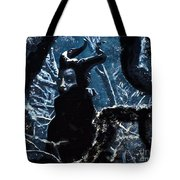 Maleficent In Winter's Woods Tote Bag