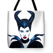 Maleficent Watercolor Tote Bag