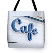 Malibu Pier Cafe Tote Bag by Art Block Collections