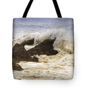 Malibu Waves Tote Bag