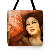 Malika Tarranum Tote Bag
