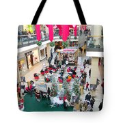 Mall Before Christmas Tote Bag