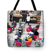 Mall Food Court Tote Bag