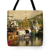 Mallaig Harbourside  Tote Bag