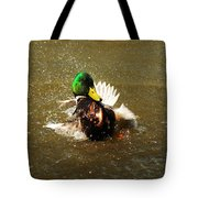 Mallard Bath Time Tote Bag