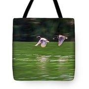 Mallard Chase Tote Bag