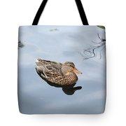 Mallard Duck Smile Tote Bag