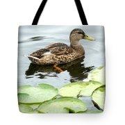 Mallard Lilly Pad Tote Bag