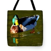 Mallard Male Duck Tote Bag