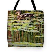 Mallard Pond Tote Bag