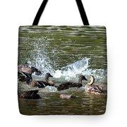 Mallard Water Party 2 Tote Bag
