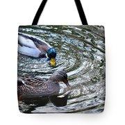 Mallards In The Creek Tote Bag