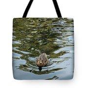 Mallards On Golden Pond 4 Tote Bag