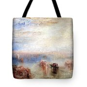 Turner's Approach To Venice Tote Bag
