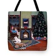 Mallory Christmas Tote Bag