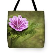 Mallow Hollyhock Tote Bag