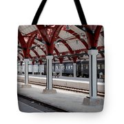 Malmo Train Station Tote Bag