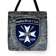 Malta Boat Club Tote Bag