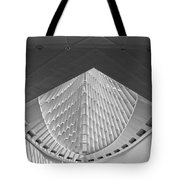 Mam In Black And White Tote Bag
