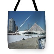 Mam In Winter With Jogger Tote Bag