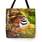 Mama Protecting Eggs Tote Bag