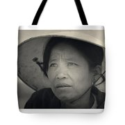 Mama San Pleiku Central Highlands Vietnam 1968 Tote Bag