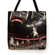Mamadi Diane Dunk Against Boston College Tote Bag