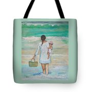 Mama's Beach Day Tote Bag
