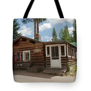 Mamma Cabin At The Holzwarth Historic Site Tote Bag