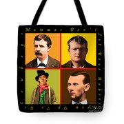 Mammas Dont Let Your Babies Grow Up To Be Cowboys 20130518 Tote Bag