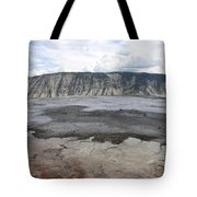 Mammoth Hot Spring Landscape Tote Bag