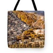 Mammoth Hot Spring Tote Bag