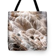 Mammoth Hot Springs Closeup Tote Bag